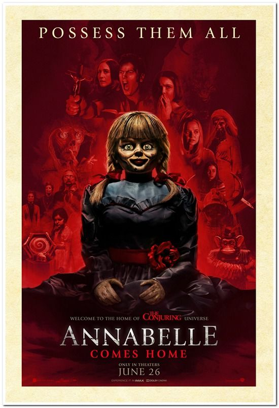 Annabelle Comes Home - 2019 - Advance Style