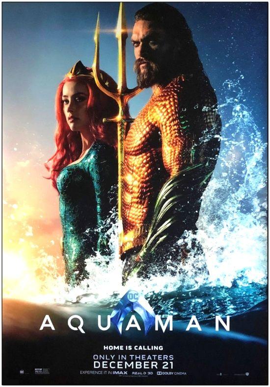 Aquaman - Bus Stop Poster