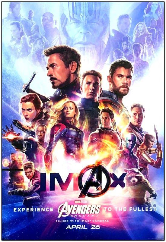 Avengers 4: Endgame - 2019 - Imax Mini Poster