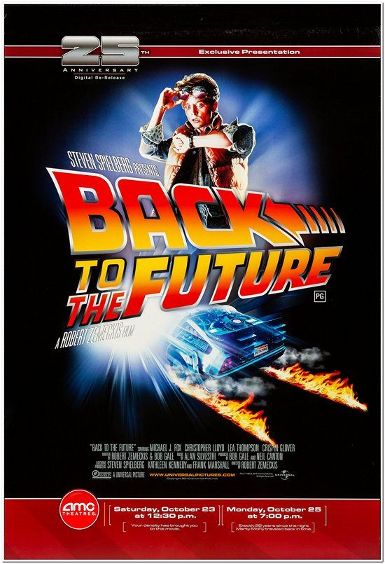 Back to the Future Pt. 1 - 25th Anniversary