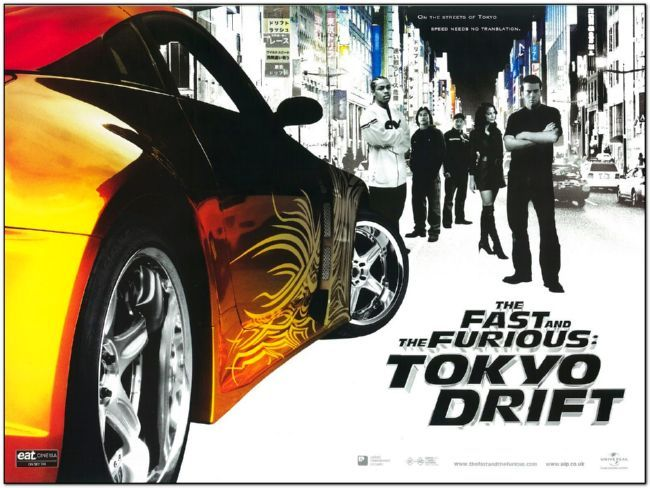 Fast and the Furious 3: Tokyo Drift - British Quad