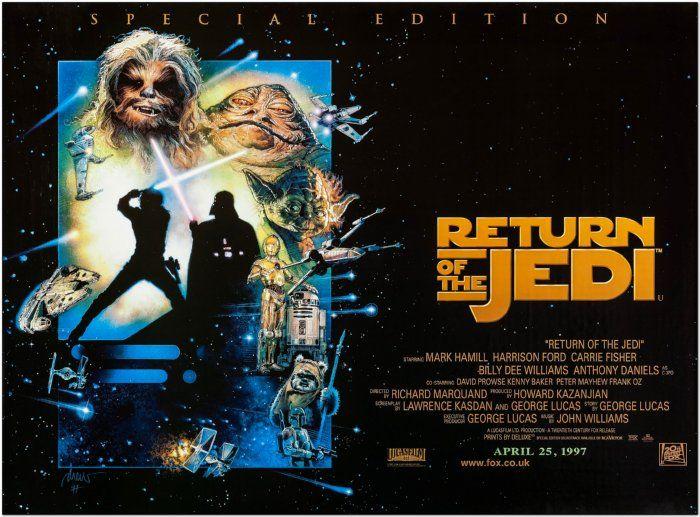 Return of the Jedi - 1997 Special Edition - British Quad