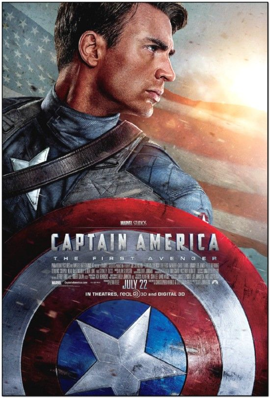 Captain America - First Avenger - Final Style B