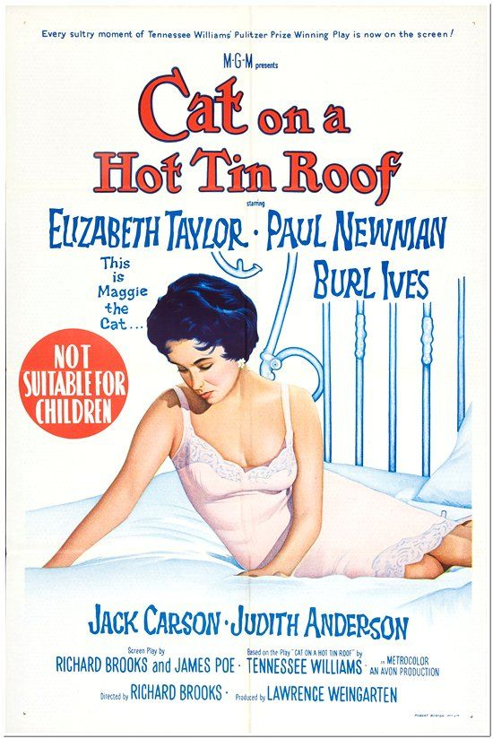Cat On A Hot Tin Roof - Australian 1-Sheet