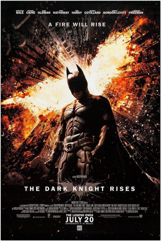Dark Knight 2 - Dark Knight Rises - Regular Style