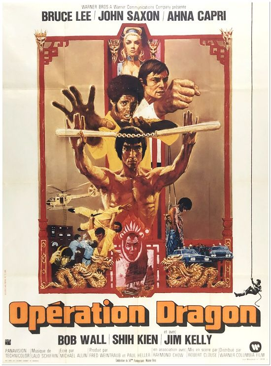 Enter The Dragon - 1973 - French Grande