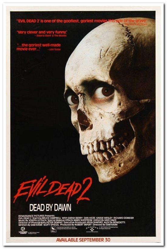 Evil Dead 2 - Video Poster
