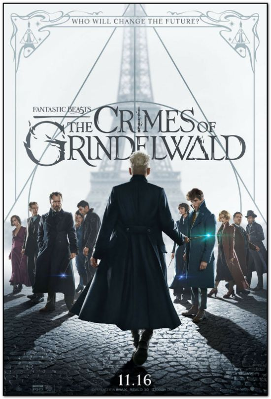 Fantastic Beasts: Crimes of Grindelwald - Advance Style A - Bus Stop Poster