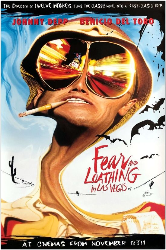 Fear And Loathing In Las Vegas - Mini Poster