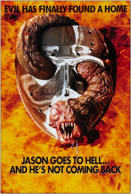 Friday the 13th Part 9: Jason Goes To Hell - Advance Style