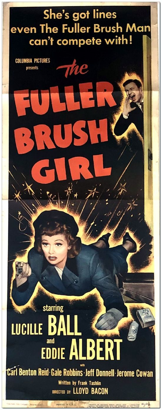 Fuller Brush Girl - Insert