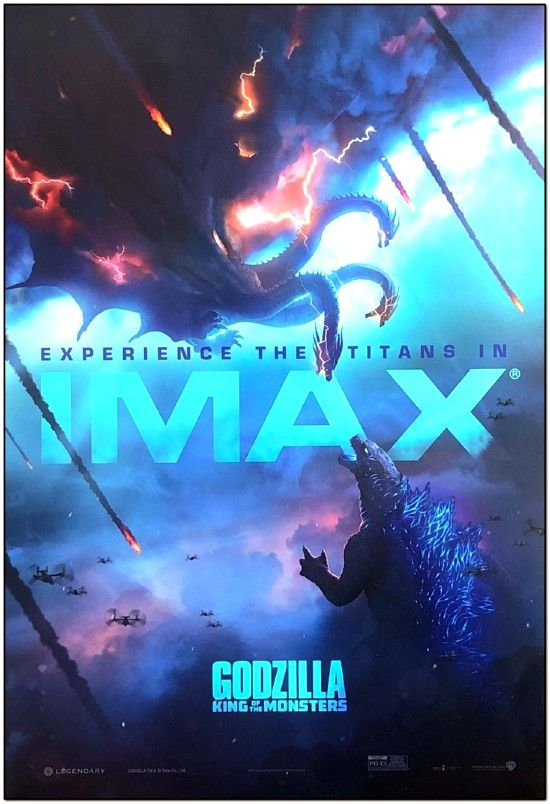 Godzilla: King Of The Monsters - Imax Mini Poster