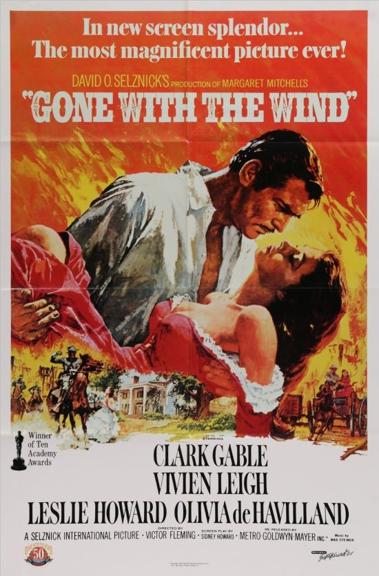 Gone With the Wind - R1989 - 50th Anniversary