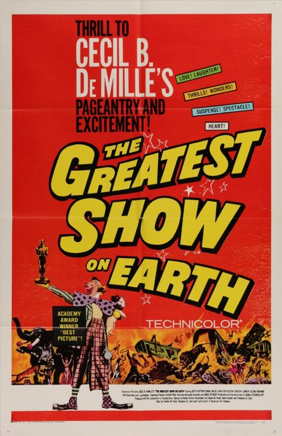 Greatest Show On Earth - R67