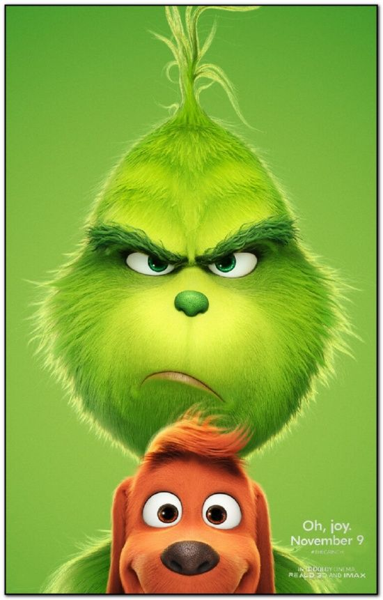 Grinch - 2018 - Advance B - Bus Stop Poster