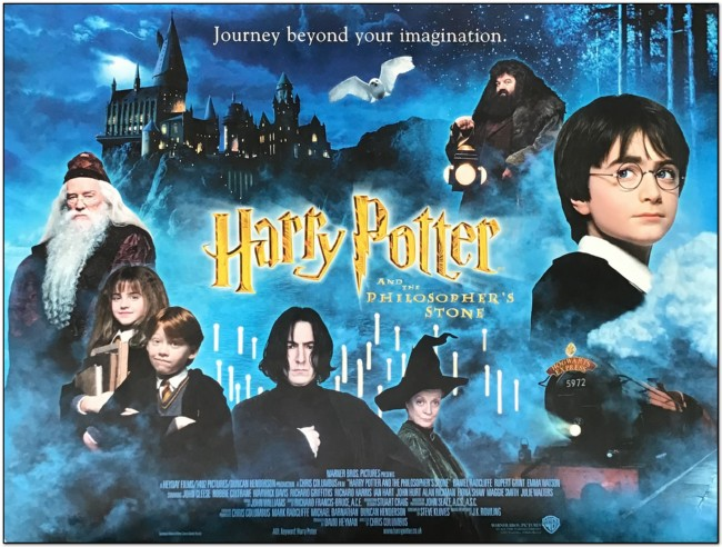 Harry Potter 1 - Philosopher's Stone - British Quad