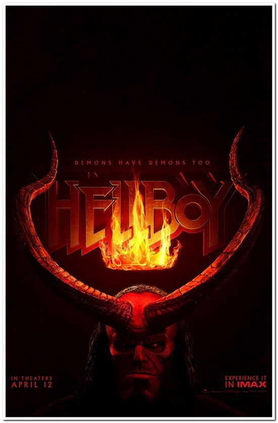 Hellboy 2019 Advance A Reel Deals Movie Posters Product Details