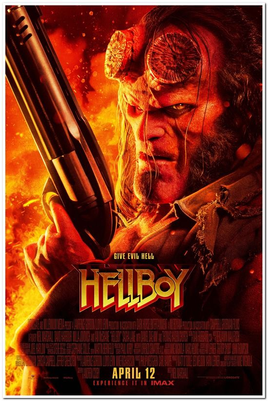 Hellboy 2019 Final Style Reel Deals Movie Posters Product Details