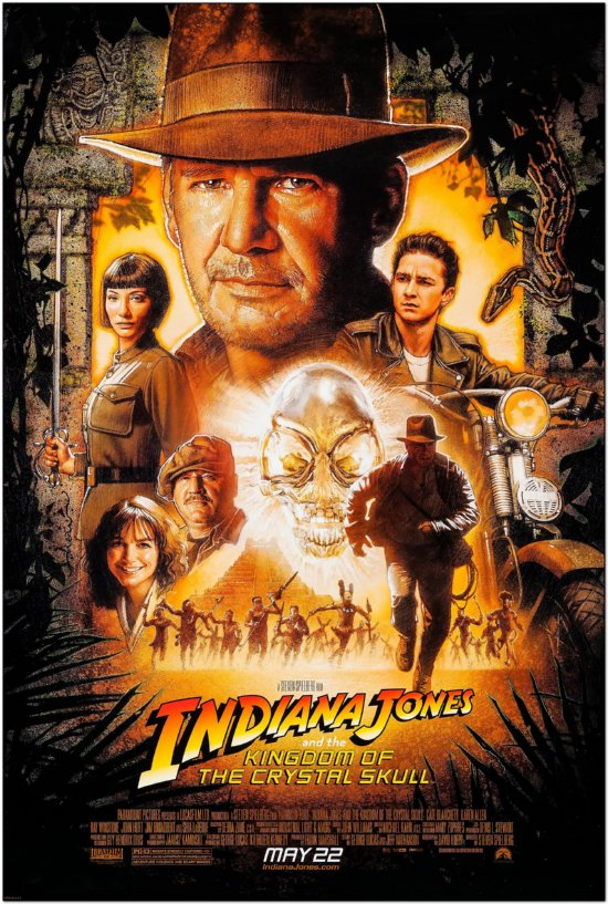 Indiana Jones And The Kingdom Of The Crystal Skull - Regular Style B