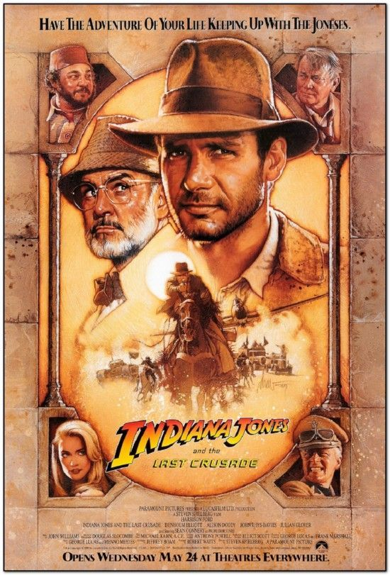 Indiana Jones and the Last Crusade - Brown Style