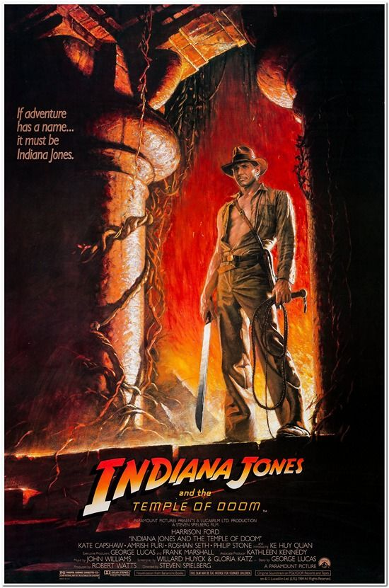 Indiana Jones and the Temple of Doom - Style A