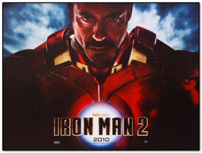 Iron Man 2 - British Quad - Advance