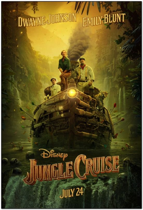 Jungle Cruise - 2021 - Advance Style A
