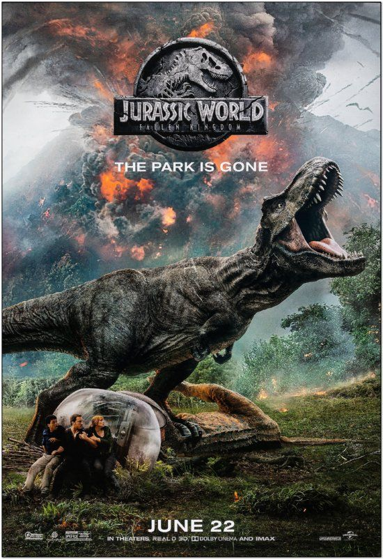 Jurassic World 2: Fallen Kingdom - Advance B - Bus Stop Poster
