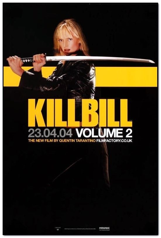 Kill Bill Vol. 2 - Advance - English Double Crown