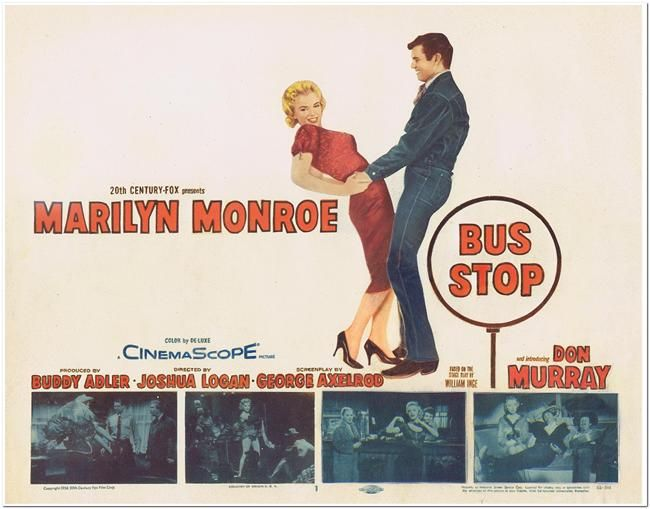 Bus Stop - Lobby Card #1 - Title Card