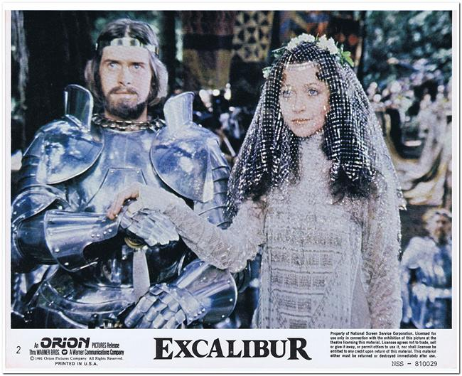 Excalibur Mini Lobby Card 2 Reel Deals Movie Posters Product