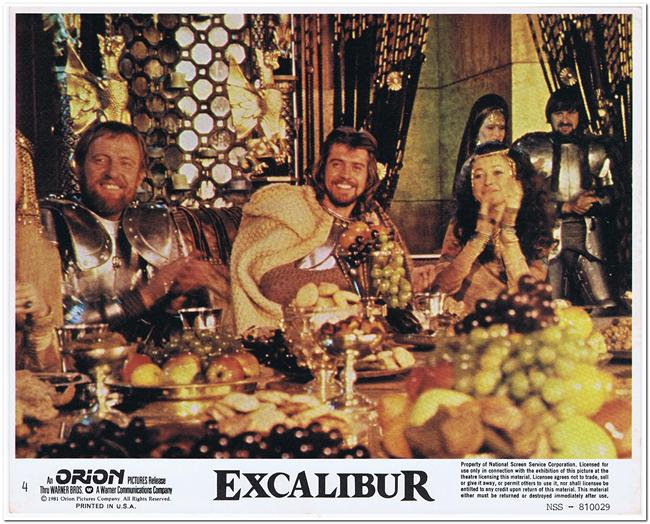 Excalibur Mini Lobby Card 4 Reel Deals Movie Posters Product