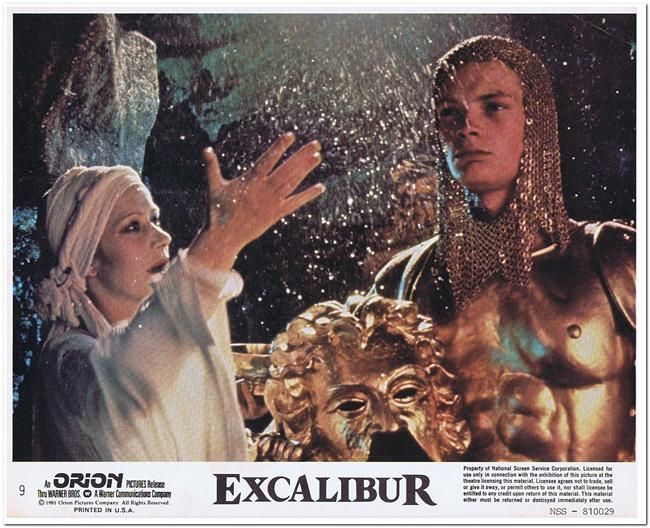 Excalibur Mini Lobby Card 9 Reel Deals Movie Posters Product