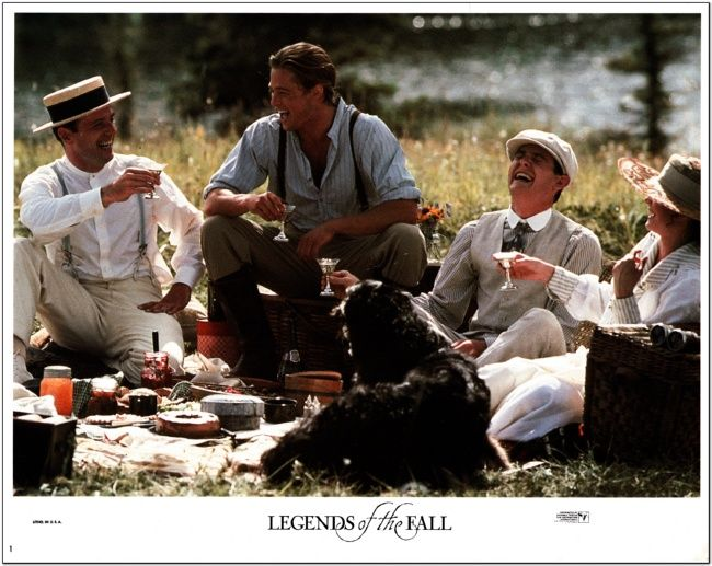 Legends Of The Fall - Lobby Card Set - 8 Cards