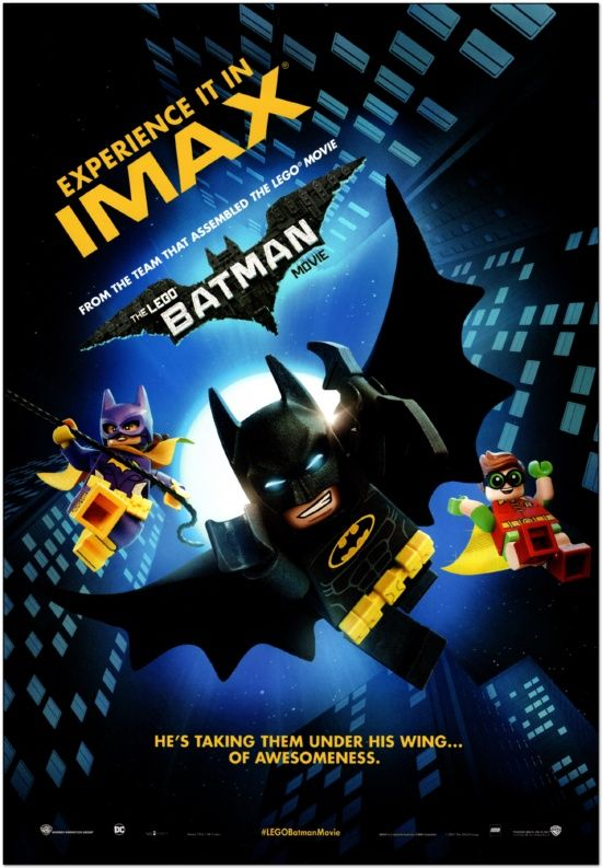 Lego Batman Movie - Imax Mini Poster