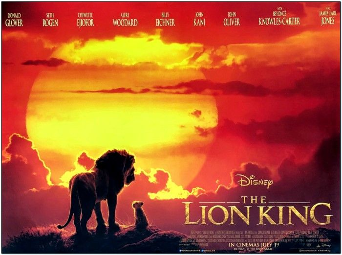 Lion King - 2019 - British Quad