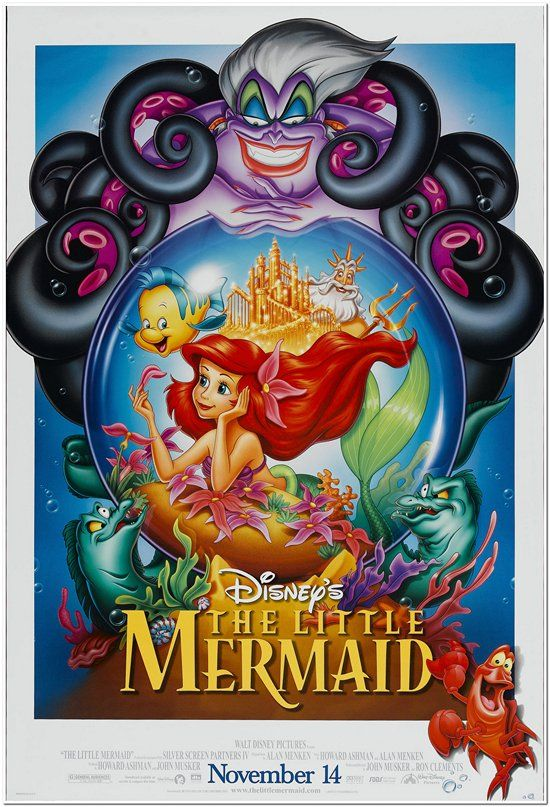 Little Mermaid - R1997 - Reg.