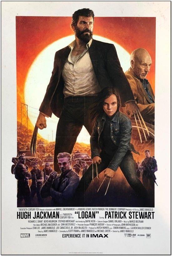 Logan - 2017 - Imax Mini Poster