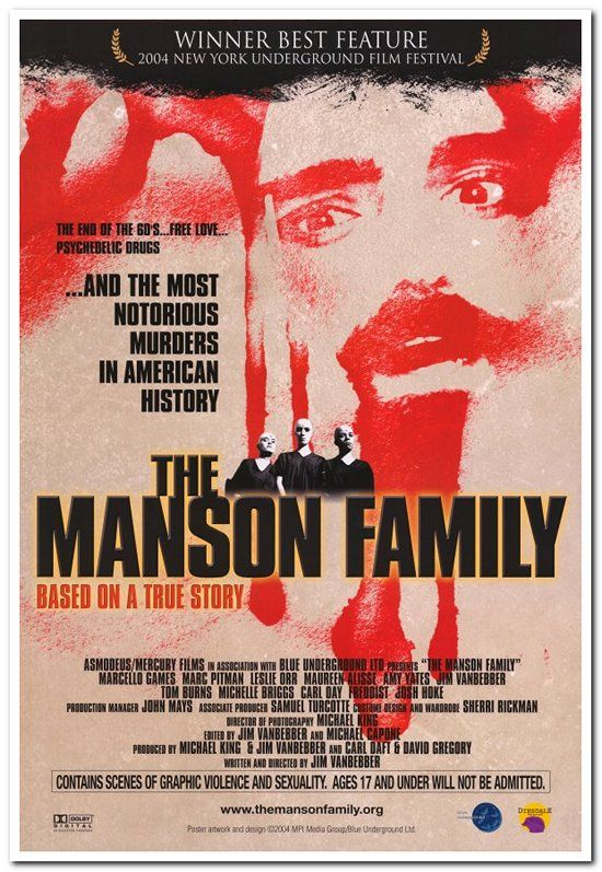 Manson Family - Reel Deals Movie Posters Product Details