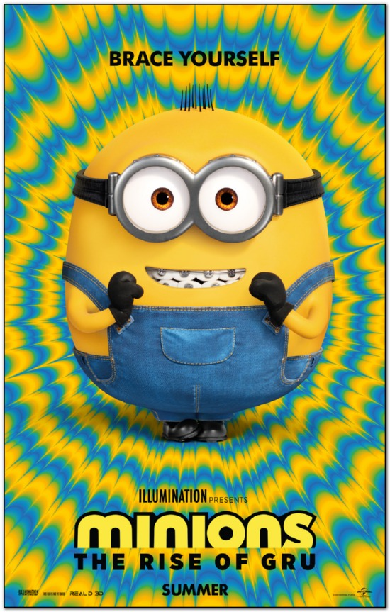 Minions 2: The Rise Of Gru - 2021 - Advance Style A