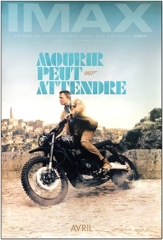 No Time To Die - French Imax Advance Style - James Bond!
