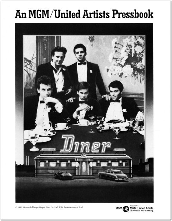 Diner - 1982 - Press Book