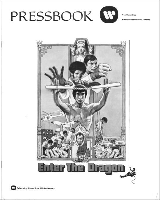 Enter The Dragon - 1973 - Press Book