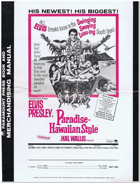 Paradise Hawaiian Style - Press Book