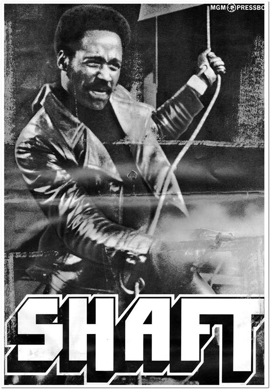 Shaft - 1971 - Press Book