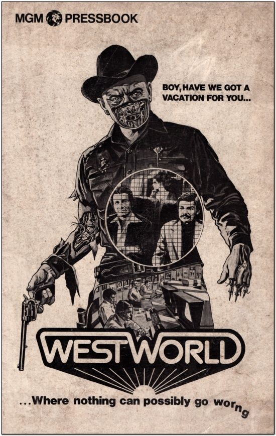 WestWorld - 1973 - Press Book