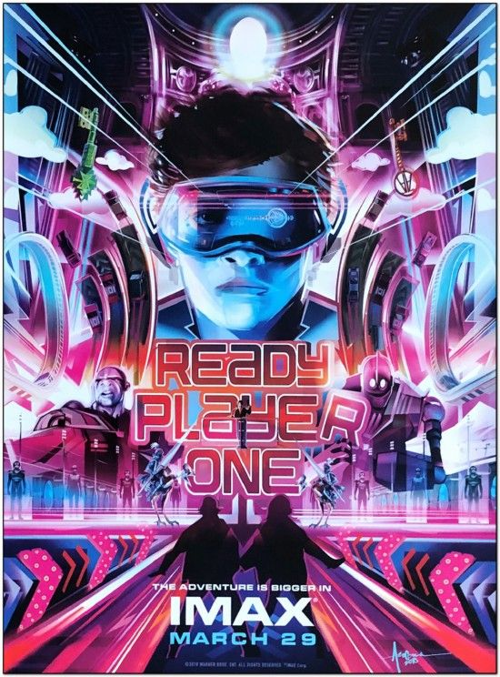 Ready Player One - Imax Mini Poster