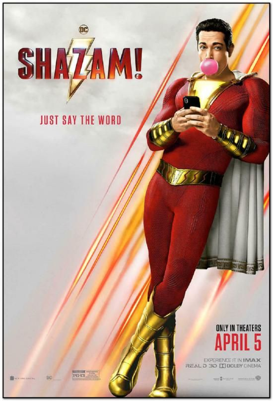 Shazam - Advance Style - Bus Stop Poster
