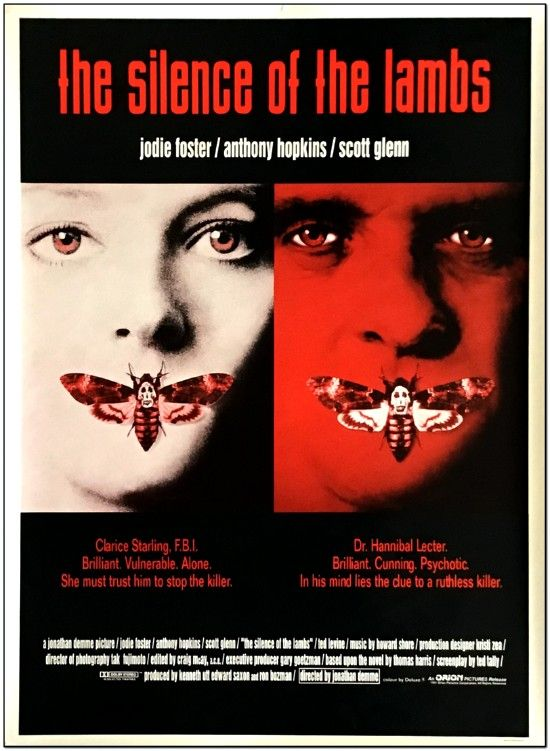 Silence Of The Lambs - UK 1-Sheet
