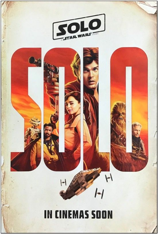 Solo: A Star Wars Story - Advance Style Of Cast